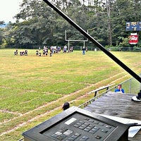 Photo taken at Walland Youth Football Field by Jonathan O. on 9/13/2012