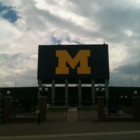 Photo taken at Michigan Stadium by Colin S. on 7/27/2012