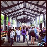 Photo taken at Fulton Street Farmer's Market by Lis B. on 6/2/2012