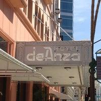 Photo taken at Hotel De Anza by Robert R. on 4/17/2012