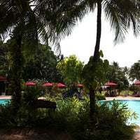 Photo taken at Mutiara Resort Pool by Bob E. on 2/16/2012