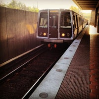 Photo taken at West Falls Church-VT/UVA Metro Station by Jay H. on 3/19/2012