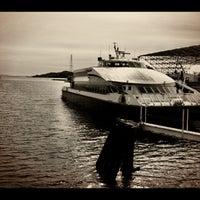 Photo taken at Golden Gate Larkspur Ferry Terminal by Jordan B. on 2/26/2012
