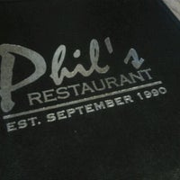 Photo taken at Phil's Restaurant and Sports Lounge by briana t. on 6/16/2012