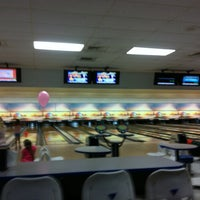 Photo taken at Buffaloe Lanes North Bowling Center by Bhoomesh G. on 8/4/2012