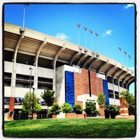 Photo taken at Pat Dye Field at Jordan-Hare Stadium by Hobie H. on 7/22/2012