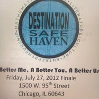 Photo taken at Third Baptist Church of Chicago by Courtney R. on 7/28/2012