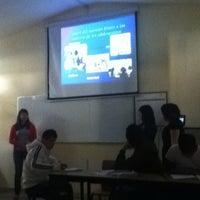 Photo taken at Escuela Normal Superior De Michoacan by Louis R. on 3/26/2012