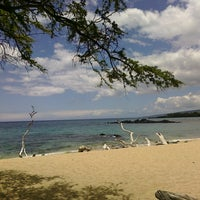 Photo taken at Waialea Bay by @LorenzoAgustin ☆ on 7/14/2011
