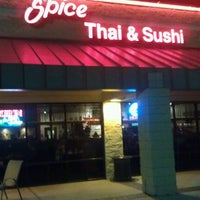 Photo taken at Spice Thai & Sushi by Roger K. on 11/12/2011