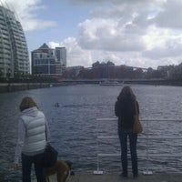 Photo taken at Salford Quays by Matt B. on 5/5/2012