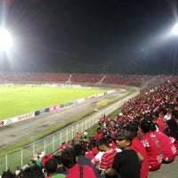 Photo taken at Stadium Sultan Muhammad IV by Kaie N. on 7/7/2012