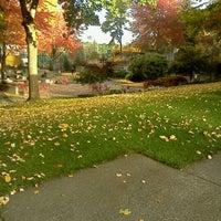 Photo taken at Jim Ellis Freeway Park by Quentin J. on 11/10/2011