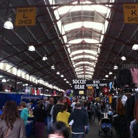 Photo taken at Queen Victoria Market by Dat H. on 4/7/2012