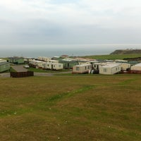 Photo taken at Thornwick Bay and Sea Farm by Craig B. on 8/2/2011