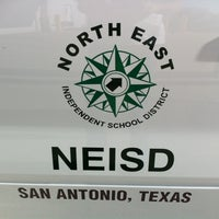 Photo taken at North East ISD Transportation by Mike B. on 9/26/2011