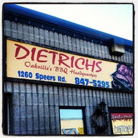 Photo taken at Dietrich's Meat Warehouse by Sid F. on 9/2/2012