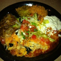 Photo taken at Taqueria El Triunfo by Melina S. on 2/14/2012