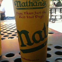 Photo taken at Nathan's Famous Hot Dogs by Beth C. on 6/7/2012