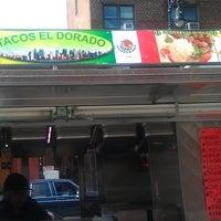 Photo taken at Tacos El Dorado by CAMBA Inc. on 9/9/2011