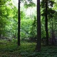 Photo taken at Hawk Island County Park by Adrienne S. on 5/22/2012