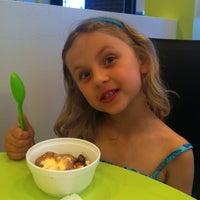 Photo taken at Yogi Frozen Yogurt by Bart C. on 5/26/2011