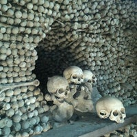 Photo taken at Sedlec Ossuary by Tomas Overdrive P. on 3/17/2012