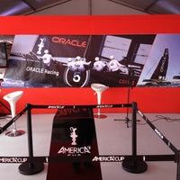 Photo taken at America's Cup Village by Andrea B. on 4/12/2012