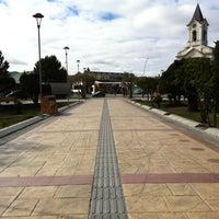 Photo taken at Plaza de Armas de Puerto Natales by Nacho S. on 2/18/2012