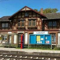 Photo taken at Bahnhof Lübstorf by Sascha N. on 5/1/2011