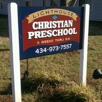 Photo taken at Lighthouse Christian Preschool by Chris F. on 12/13/2011