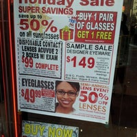 Photo taken at fabulous optical by Prince$$ A. on 2/10/2012