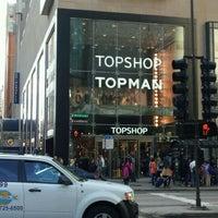 Photo taken at Topshop Topman by John Y. on 9/24/2011