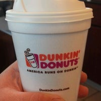 Photo taken at Dunkin' Donuts by Colin G. on 2/10/2012