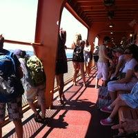 Photo taken at Staten Island Ferry Boat - Andrew J. Barberi by Dan H. on 7/25/2012