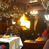 Photo taken at Pegasus Taverna by Brian R. on 1/14/2012