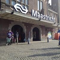 Photo taken at Maastricht Railway Station by Jack U. on 2/20/2012