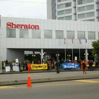 Photo taken at Sheraton Vancouver Guildford Hotel by Bradley Y. on 10/20/2011
