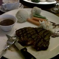 Photo taken at San Francisco Steak House by Azeem A. on 9/29/2011