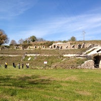 Photo taken at Teatro Romano di Ocriculum by Federico R. on 4/9/2012