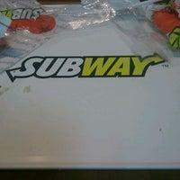 Photo taken at Subway by Jan S. on 8/11/2011
