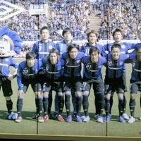 Photo taken at スタジアムモリスポ by akrakirakr on 10/28/2011