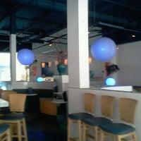 Photo taken at Aqua Bleu by Nicole O. on 9/23/2011