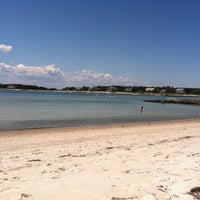 Photo taken at Wild Harbor Estates Beach by Dan A. on 7/15/2011