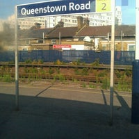 Photo taken at Queenstown Road Railway Station (QRB) by Nathan N. on 9/25/2011