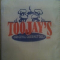 Photo taken at TooJay's Gourmet Deli by Kelley H. on 9/18/2011