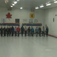 Photo taken at Schenectady Curling Club by April K. on 1/3/2012