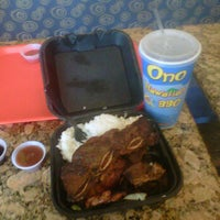 Photo taken at Ono Hawaiian BBQ by Devante C. on 8/13/2011