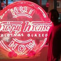 Photo taken at Krispy Kreme Doughnuts by Carl E. on 2/17/2012