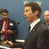 Photo taken at Speaker's Lobby by edie b. on 6/14/2012